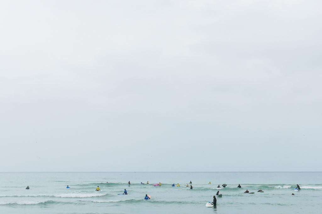 Surfen Unstad Strand